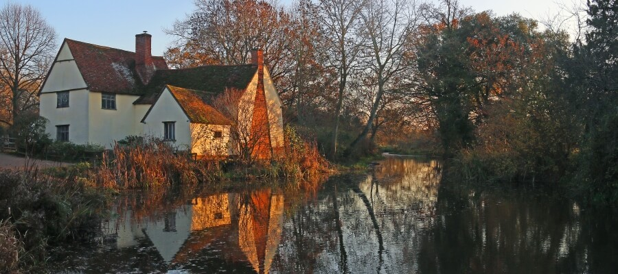 Creative Landscapes in Flatford Mill, Suffolk
