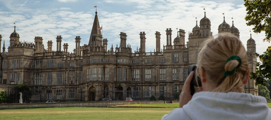 Explore Your Camera Part 1 - Get off Auto in Burghley House, South Lincolnshire