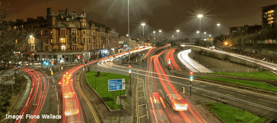 Light Trails & Night Photography in Leeds