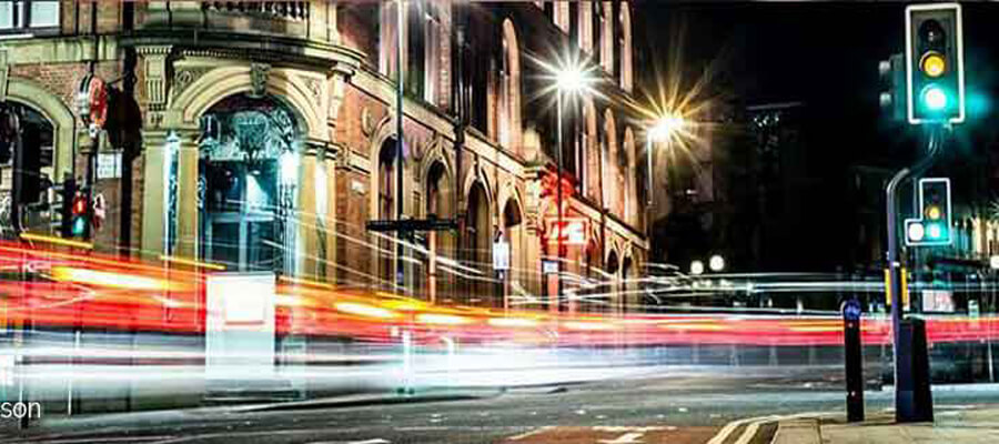 Light Trails & Night Photography in Winchester