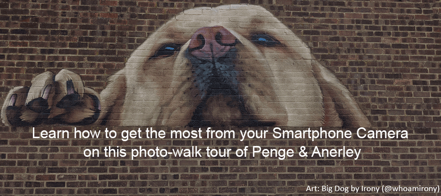 Smartphone Walks in London Photography Courses