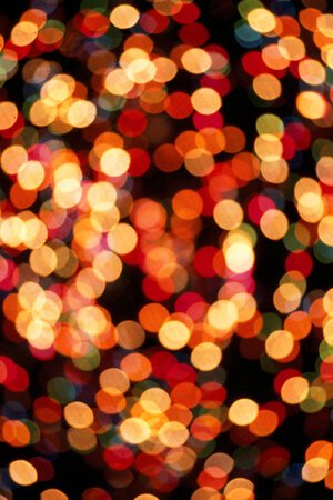 bokeh Xmas lights