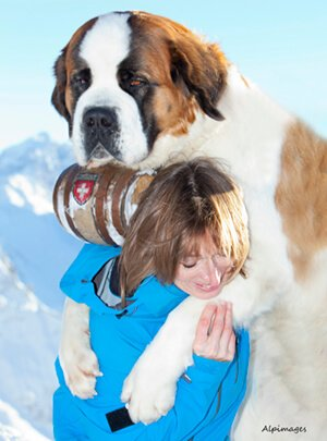 Anna and St Bernard